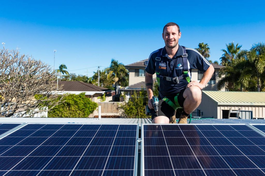 Sean Barry on Roof Installing Solar